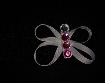 Ribbon Butterfly infant headband