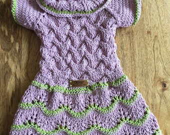 Dress ELLA Bespoke HandKnitted Custom Made Especially for You