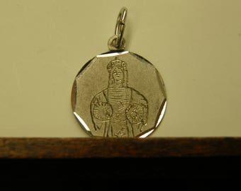Religious Pendant - 800 Fine Silver
