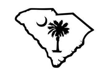 Palmetto State South Carolina SVG DIGITAL file