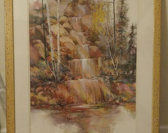 Adin Shade Print-Rainbow Falls
