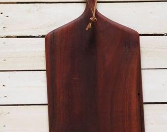 Large jarrah serving board