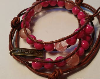 Multi-Color Beaded Custom Bracelet