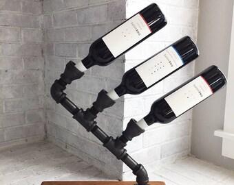 Industrial Wine Holder