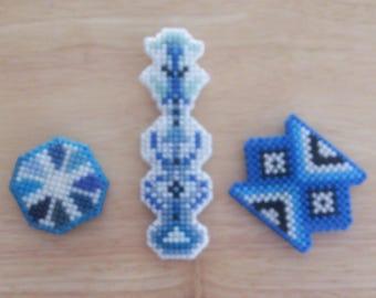 Locker or Fridge Magnets (Set of 3)