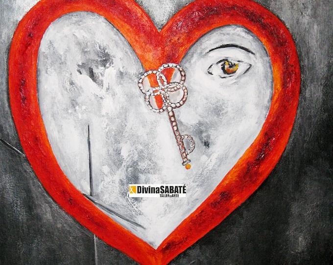 Featured listing image: Corazón en el espacio qur esta atrapado por el tiempo, como si cada historia individual agotara sus motivos, sus palabras y sus imágenes.