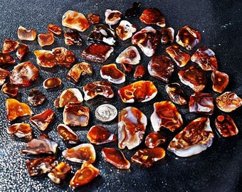 Fire Agate cabs