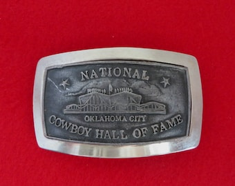 Oklahoma Belt Buckle Etsy