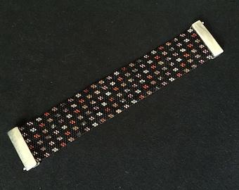 Bracelet beads Miyuki - model fire rice Grain