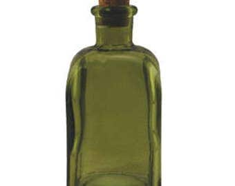 8.5 oz Dark Green Rectangle Glass Bottle for Reed Diffuser