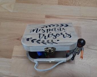 Wooden treasure box