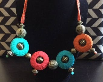 Colorfull Necklace Handcrafted