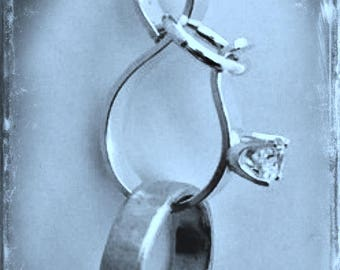 Forget Me Not Ring Saver Pendant ©