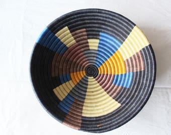 Kara Black-Handmade bowl from Rwanda