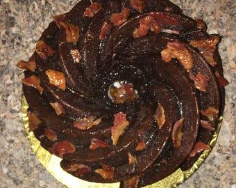 Chocolate Bacon Rum Cake