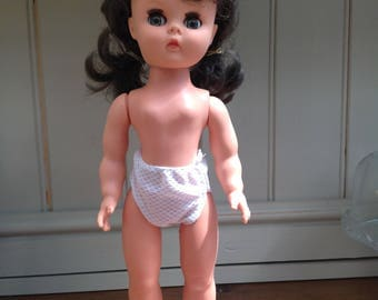 Vintage plastic Roddy doll 1960s made in England