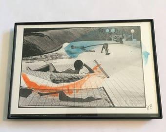 Watercolor 27 on Postcard