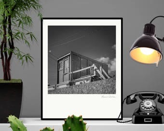 Office. High quality photography print. Signed by hand. 40x50cm.