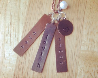 Mommy Necklace - Personalized Mom Necklace