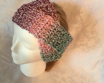 Multicolored criss cross headband