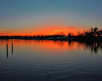 "Photo ""Dramatic Sunset"" print"