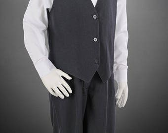 4 Piece Vest Suit Formal Page Boys Suits from sizes 000 to 16