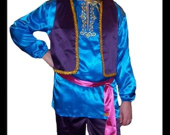Aladdin costume. Halloween costume. Cosplay Costume. Costume for rent