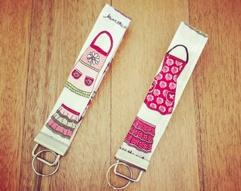 Kiss the cook wristlet keyfobs