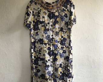 Vintage 60's Tunic Dress Size 12