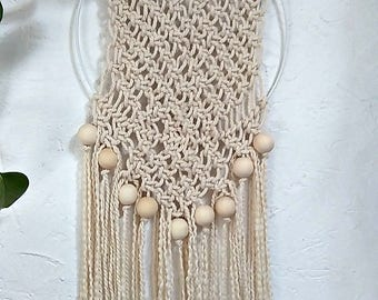 Nice for a Bohemian style macrame Dreamcatcher