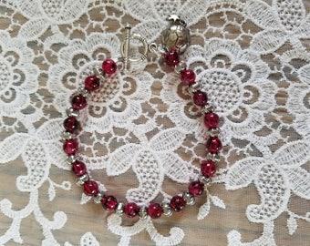 Deep Red Bracelet