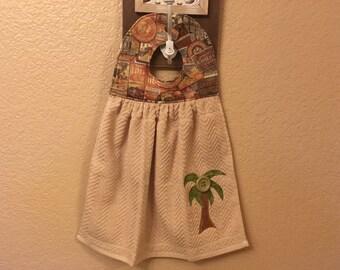 Palm Tree Hand Towel