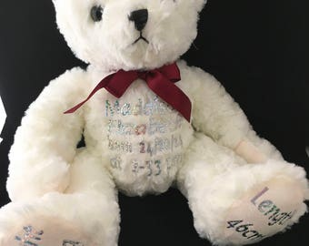 Personalised Bears With Bling