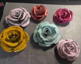 Metal Roses - Small