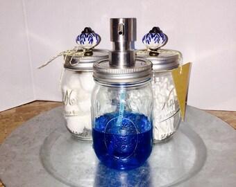 Mason Jar Soap Lotion Liquid Dispenser Spout Set 3
