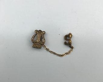 Vintage High School Pin, Vintage Pin, Vintage Brooch, Vintage SHS Pin, 1930's pin, Vintage Collectible