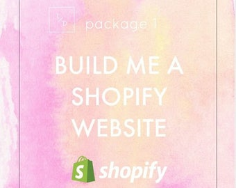 Build Me A Shopify Site