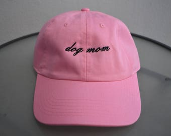 NEW! Dog Mom Hat in 5 colors