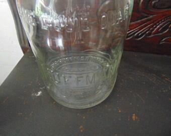 Huffman Oil Bottle