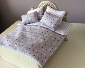 1/12 scale dollshouse  miniature bedding set