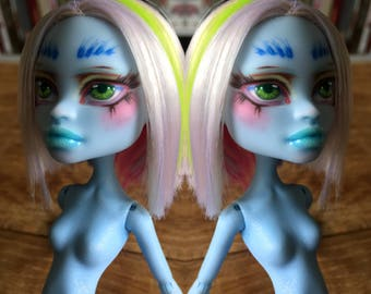 OOAK Monster High Doll Abbey Bominable