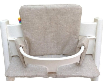 coated linen cushions for the tripp trapp highchair from Stokke ®