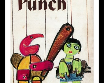 Punch Magazine Cover - March 28, 1962