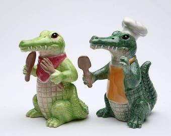 Alligator Salt and Pepper Shaker Set (20736)