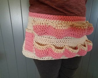 Crocheted Egg Apron