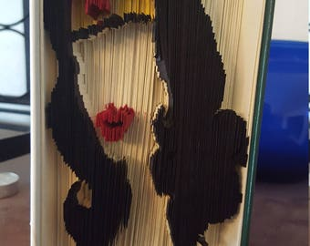 Folded Book Art - Wonder Women