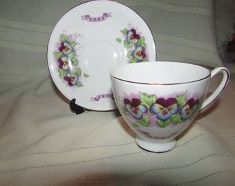 Royal Standard  ROOP English Fine Bone China Teacup and Saucer