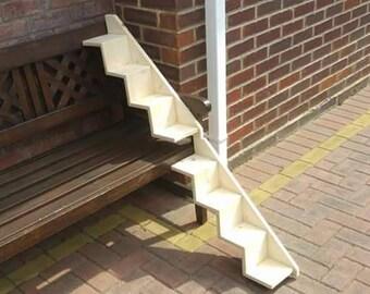 Handmade wall cat stairs x1