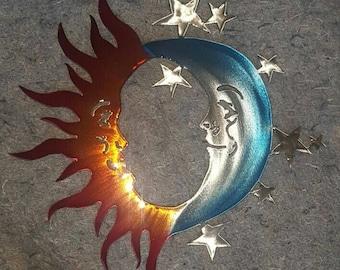 Sun, Moon, and Stars Art Medium