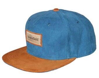 Blue Corduroy Cap - Wakefield